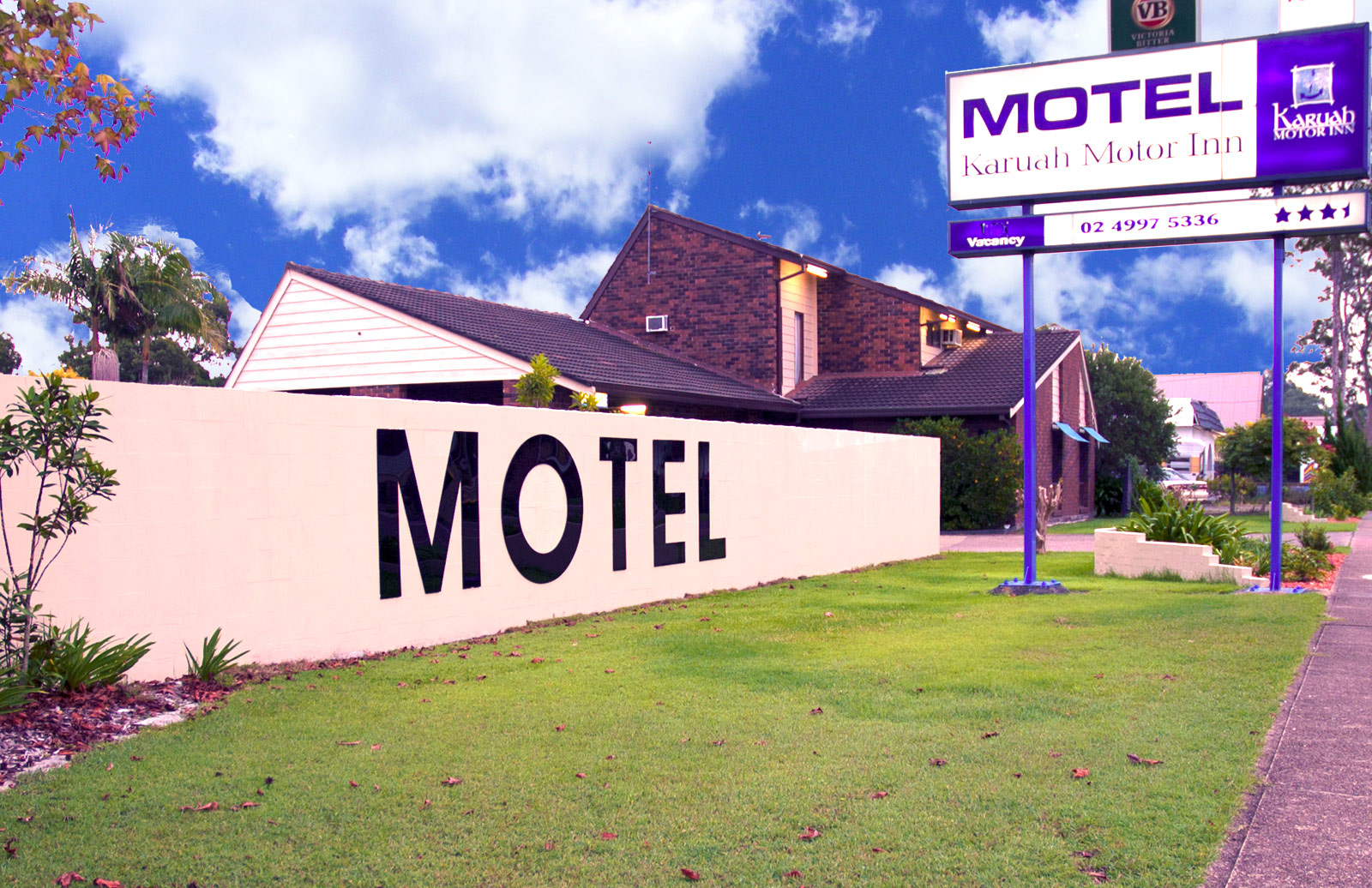 Karuah motor inn the best in affordable accomodation for Long lake motor inn
